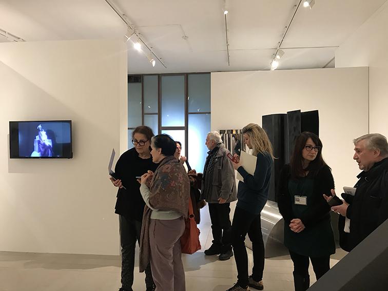 Sezione Galleria Tommaseo, presentazione alla stampa.
