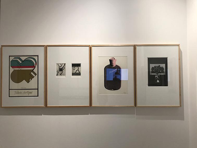 da sinistra a destra opere di Bruno Chersicla, Emanuela Marassi, Fabrizio Plessi, Mario (Piccolo) Sillani Djerrahian.