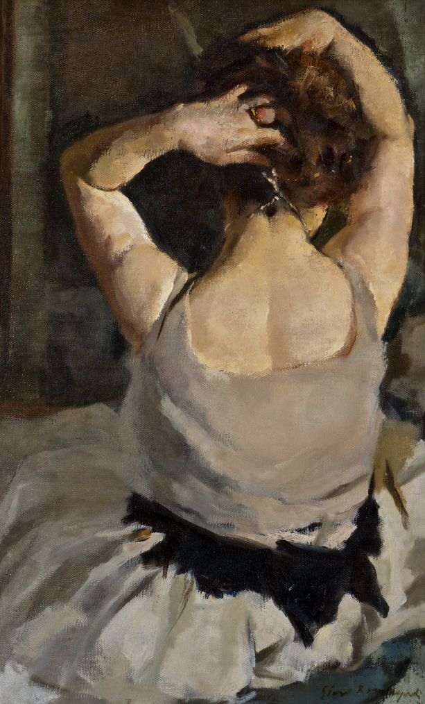 Giovanni Romagnoli, Ritmi, 1923, olio su tela