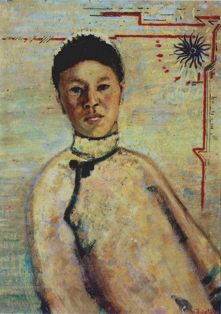 Vittorio Bolaffio, La cinesina, 1913 circa, olio su tela, 50, 36,5 cm