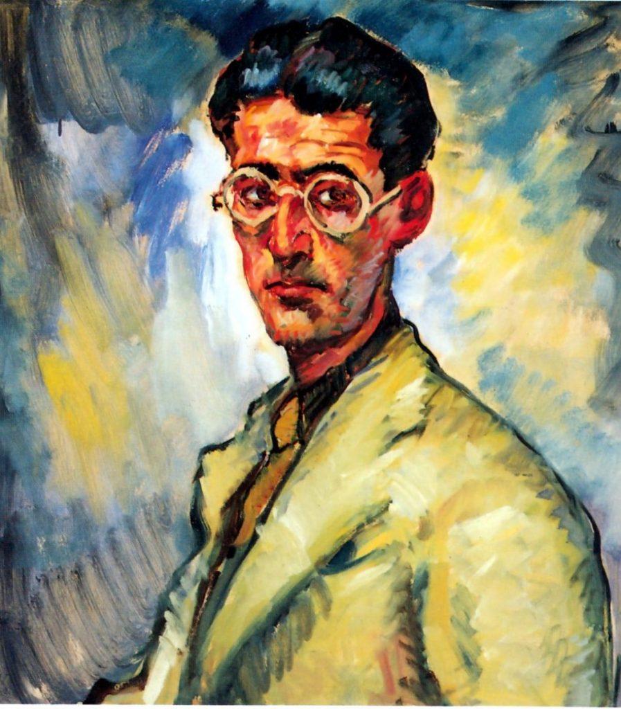 Adolfo Levier, Manlio Malabotta, prima metà anni Trenta, olio su cartone, 72,5x66,5 cm